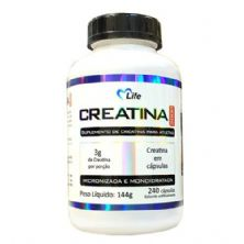 Creatina - 240 Cápsulas - Mlife