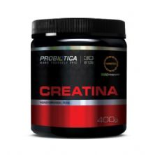 Creatina Creapure  Monohidratada Pura - 400g - Probiótica