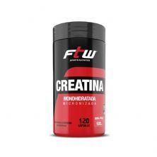 Creatina Monohidratada Micronizada - 120 Cápsulas - FTW