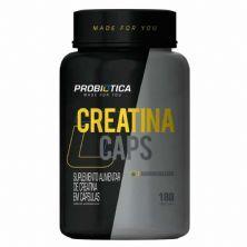 Creatina Monohidratada Pura - 180 Cápsulas - Probiótica