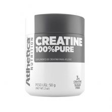 Creatine 100% Pure - 50g - AtlheticaNutrition