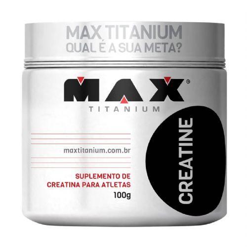 Creatine - 100g - Max Titanium no Atacado