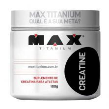 Creatine - 100g - Max Titanium*** Data Venc. 10/12/2020
