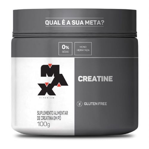Creatine - 100g - Max Titanium no Atacado