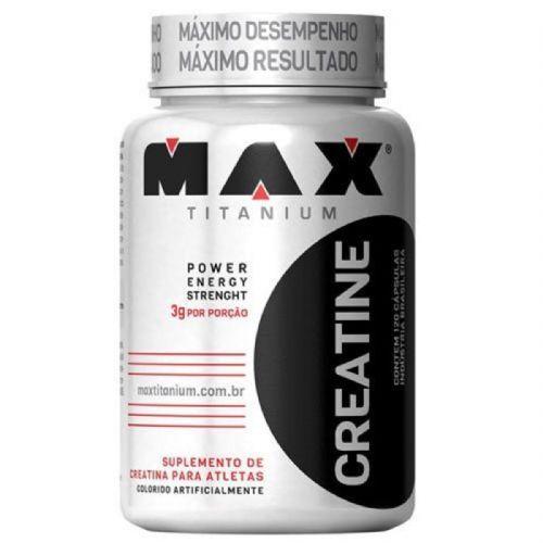 Creatine - 120 Cápsulas - Max Titanium no Atacado