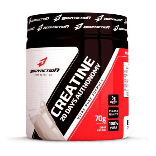 Creatine 20 Days Autonomy - 70g - BodyAction no Atacado