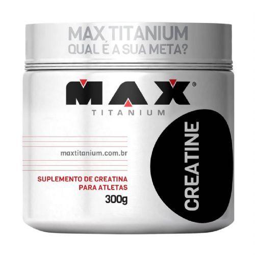 Creatine - 300g - Max Titanium no Atacado