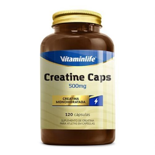 Creatine 500mg - 120 Cápsulas - Vitaminlife no Atacado