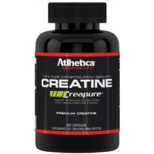 Creatine Creapure Caps Evolution Series - 200 cápsulas Creatina - Atlhetica