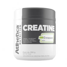 Creatine Creapure Evolution Series - 300g Creatina - Atlhetica Nutrition