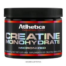 Creatine Monohydrate Micronized Evolution Series - 300g Creatina - Atlhetica Nutrition