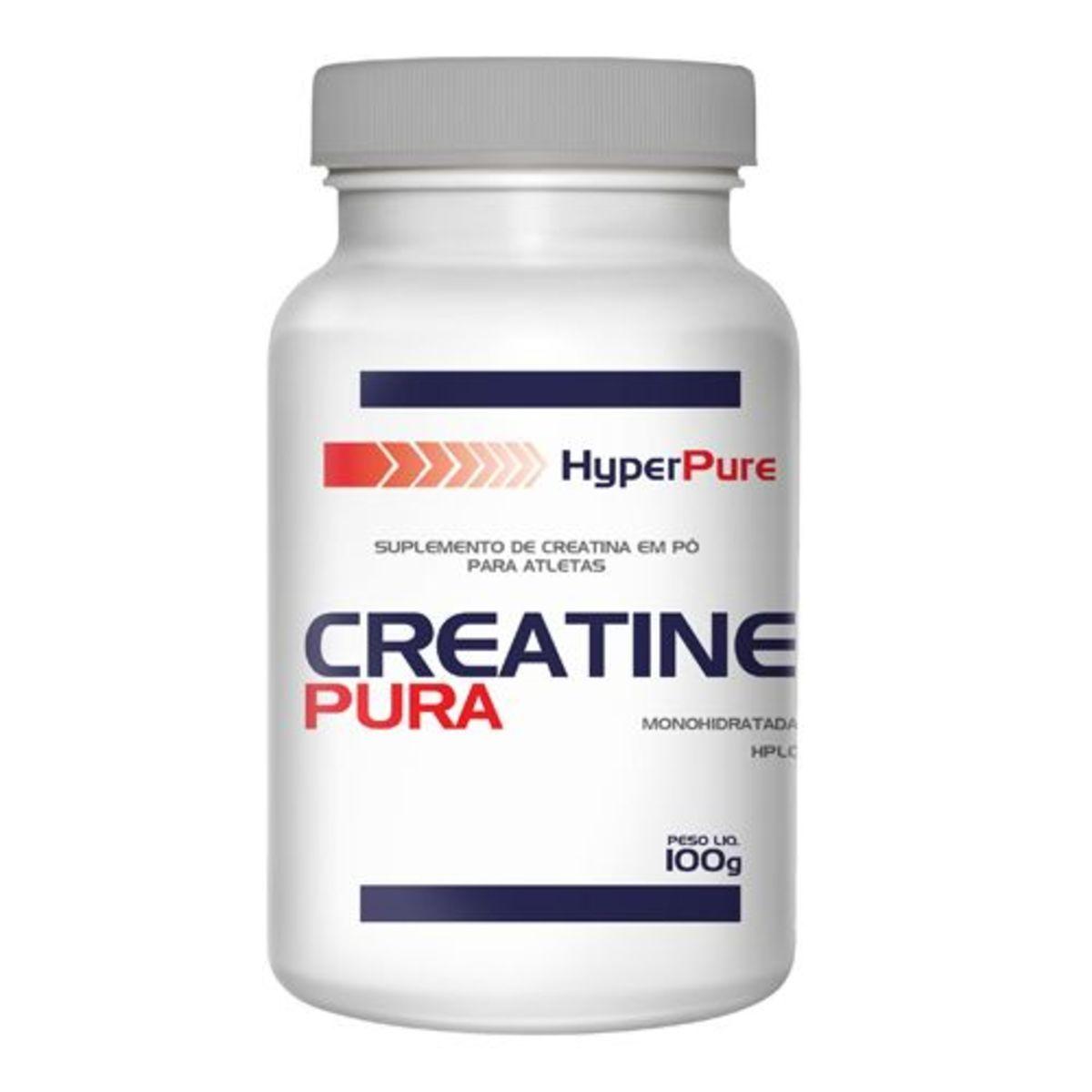 Creatine Pura - 100g - HyperPure