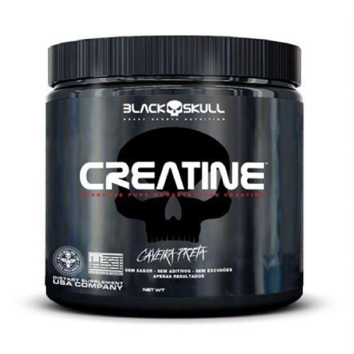 Creatine Pure Monohydrate - 300g - Black Skull no Atacado