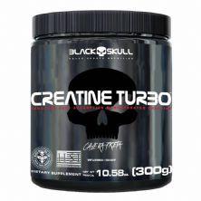 Creatine Turbo - 300g Sem Sabor - Black Skull