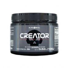 Creator Creatina - Sem Sabor 100g - Black Skull