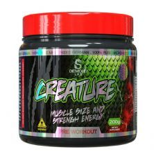 Creature Pre Workout - 200g Sem Sabor - Demons Lab