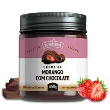 Creme Chocolate com Morango - 450g - Nutríssima