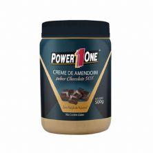 Creme de Amendoim - 500g Chocolate 50% - Power One