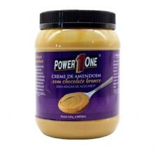 Creme de Amendoim com Chocolate Branco - 1005g - Power One