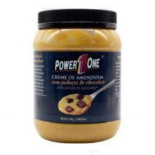 Creme de Amendoim com Pedaços de Chocolate - 1005g - Power One
