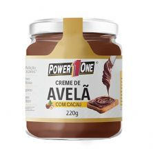 Creme de Avelã com Cacau - 220g - Power One
