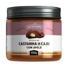 Creme de Castanha de Caju Com Avelã - 450g - Nutrissima