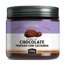Creme de Chocolate Trufado Com Castanha - 450g - Nutrissíma