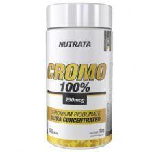 Cromo 100% - 120 Cápsulas - Nutrata