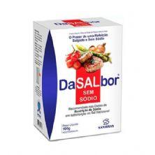 Dasalbor Sal sem Sódio - 100g - Sanibras