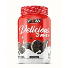 Delicious 3 Whey - 900g Cookies - FTW