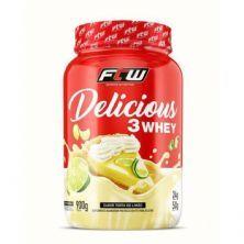 Delicious 3 Whey - 900g Torta de Limão - FTW