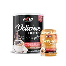 Delicious Coffee 300g Tradicional + Brinde Delicious Coffee Capuccino 100g - FTW