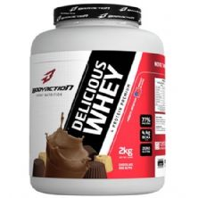 Delicious Whey - 2000g Chocolate dos Alpes - BodyAction