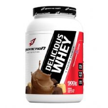 Delicious Whey - 900g Chocolate dos Alpes - BodyAction