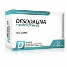 Desodalina - 60 Cápsulas - Sanibras