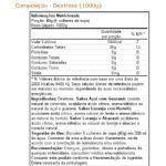 Dextrose - Açaí c/ Guaraná 1000g - Solaris Nutrition