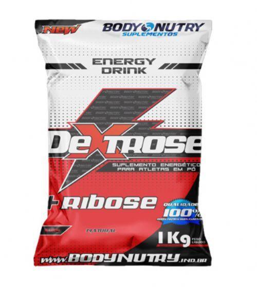 Dextrose Ribose - 1000g Refil Morango - Body Nutry no Atacado