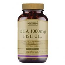 DHA 1000mg Fish Oil - 90 Softgels - Natures Gold