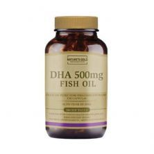 DHA 500mg Fish Oil - 180 Softgels - Natures Gold