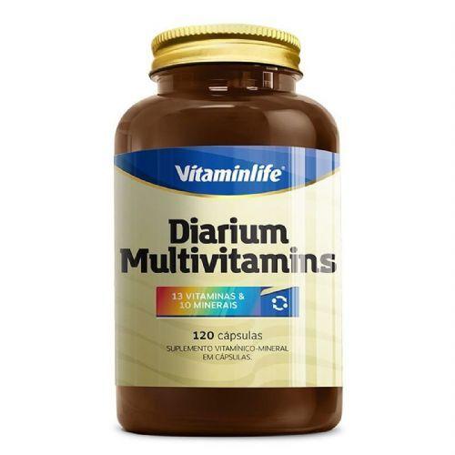 Diarium Multivitamínico - 120 Cápsulas - VitaminLife no Atacado