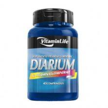 Diarium - Multivitamínico 45 comprimidos - VitaminLife*** Data Venc. 30/04/2018