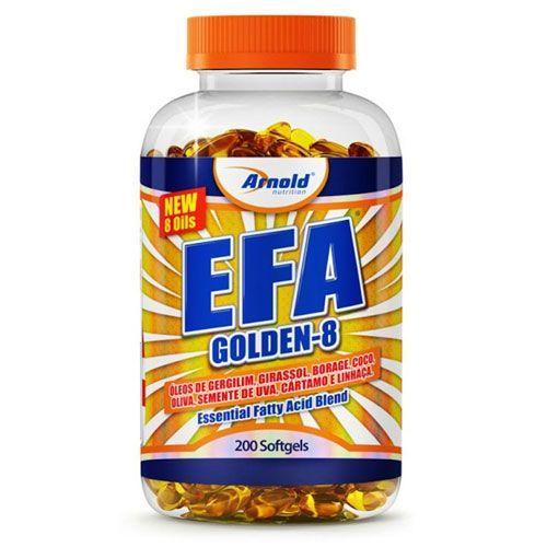 Efa Golden 8 - 200 cápsulas - Arnold Nutrition