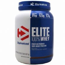 Elite 100% Whey Protein - 907g Rich Chocolate - Dymatize