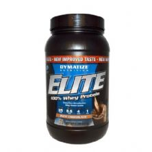 Elite 100% Whey Protein - Chocolate 907g - Dymatize Nutrition