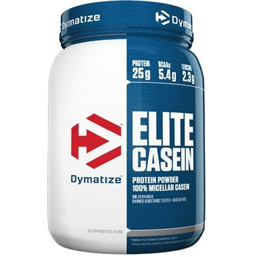 Elite Casein - 907g Rich Chocolate - Dymatize Nutrition