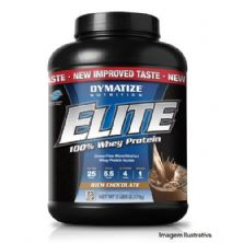 Elite Whey Protein Chocolate 2270g - Dymatize