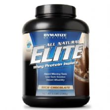 Elite Whey Protein Isolate - Chocolate 2268g - Dymatize