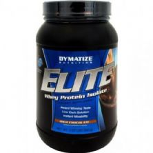 Elite Whey Protein Isolate - Chocolate 930g - Dymatize
