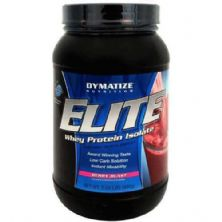 Elite Whey Protein - Morango 938g - Dymatize Nutrition