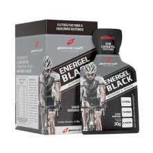 Energel Black - 10 Sachês Morango - BodyAction